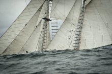 Schooner AMAZING GRACE. Photo ©Mark Albertazzi.