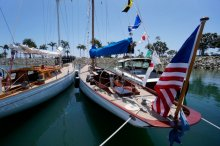 San Diego Wooden Boat festival photo.