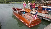 Charlotte Antique and Classic Boat Show.