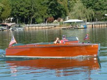 A vintage 1930 Chris Craft 100 will be among the water craft showcased at the Hilton Head Island Motoring Festival and Concours d'Elegance.