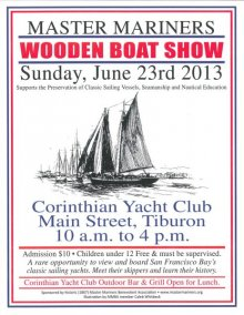 Wooden Boat Show, Tiburon, June 23, 2013