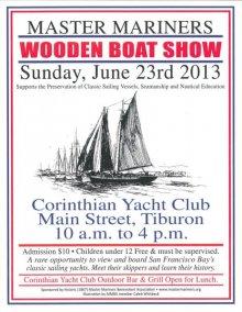Wooden Boat Show, Tiburon, June 23, 2013