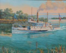 Last Trip of the Day by Judy Maring is featured on the 2016 poster.