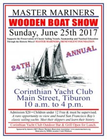24th Annual Master Mariners Benevolent Assoc. Wooden Boat Show