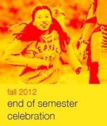 End of Semester Celebration Poster