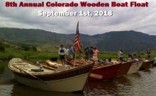 8th Annual Colorado Wooden Boat Float