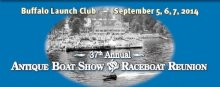 37th Annual Antique & Classic Boat Show & Race Boat Reunion at the Buffalo Launch Club