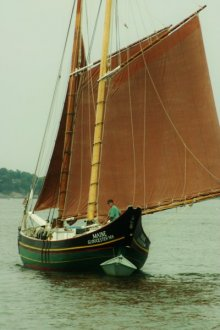 Schooner Maine under Sail