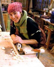 Woodworking Demo--Anita