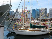 Classic and Wooden Boat Festival, Sydney Harbour