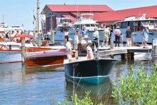 Annual Antique & Classic Boat Festival. Photo courtesy CBMM.