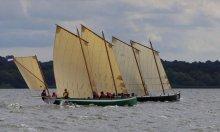 Bantry Bay gigs. Photo courtesy of Atlantic Challenge International.