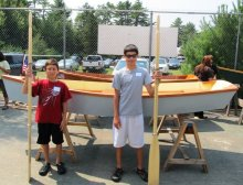 Youth Boat Building
