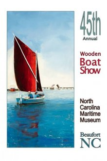 45th Annual Wooden Boat Show in Beaufort, NC. Painting by Donna Nyzio.