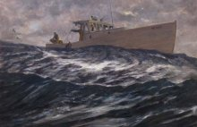 Exhibition of Robert Beck's work at Maine Maritime Museum