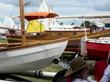 Port Aransas Wooden Boat Festival. Photo: Port Aransas Museum.
