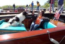 Lake Hartwell Antique Wooden Boat Festival. Photo credit: Sefton Ipock.