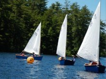 "UNH Family Boat Building Program 12-ft ""Oyster Cats"""