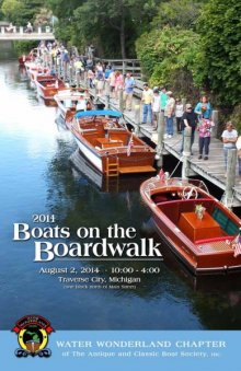 Boats on the Boardwalk poster
