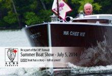WaCheeWe 2014 poster boat