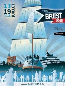 Brest International Maritime Festival poster.