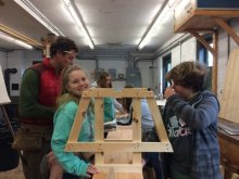 Photo courtesy Brooklin School Boatbuilding http://www.brooklinschool.org/