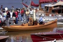 Wooden Boat Rally has been held annually at the Seaport Marina, Launceston, Tasmania since 2006.