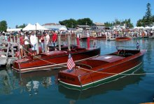 Les Cheneaux Islands Antique Wooden Boat Show photo