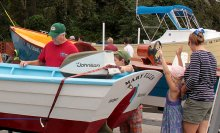 Eighth Annual Southport NC Wooden Boat Show