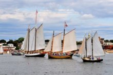 Annual Gloucester Schooner Festival. Photo by Carl Gustin.