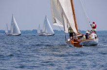 8th annual ELF Classic Yacht Race. Photograph by Dan McGrath.