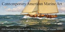 17th National Exhibition of the American Society of Marine Artists Poster