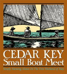 Cedar Key Small Boat Meet poster.