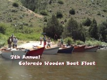 7th Annual Colorado Wooden Boat Float
