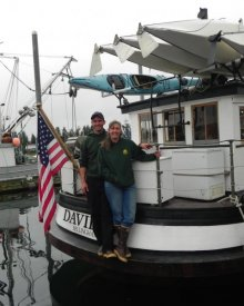 Jeffrey and Christine Smith, M/V DAVID B, Debra Westwood photo