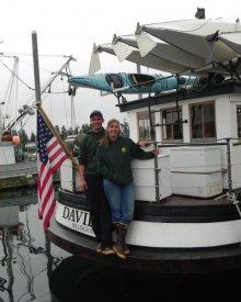 Jeffrey and Christine Smith, M/V DAVID B, Debra Westwood photo