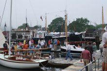 WoodenBoat show photo