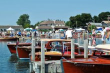 43rd Annual Les Cheneaux Islands Antique Boat Show and Festival of Arts