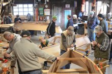 Family Boatbuilding photo.