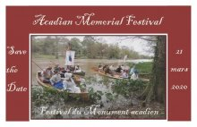 Acadian Memorial Heritage Festival and Wooden Boat Congrès