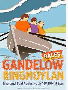 Gandelow Regatta on the River Shannon.