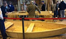 2014 Beaufort BoatBuilding Challenge Demonstration
