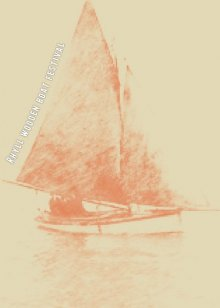 Rhyll Wooden Boat Festival March poster