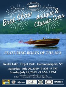 Wine Country Classic Boats 37th Annual Classic Boat Show