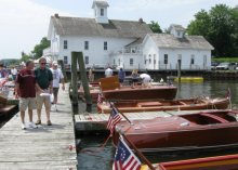 Mahogany Memories Boat Show