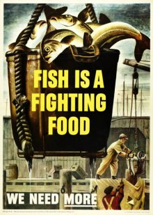 Lecture: Fishing During WWII. Image: Maine Sardine Council Collection, PMM.