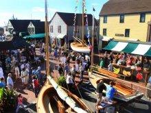 Newport Wooden Boat Show.