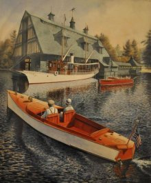 14th Annual Lake Winnipesaukee (NH) Boathouse Tour