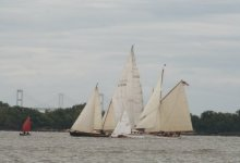 Wooden Sailboat Rendezvous and Race