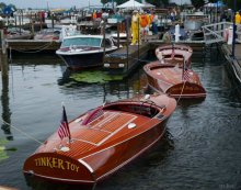 Annual Niagara Frontier Antique & Classic Boat Show. Photo: Michael Katz.